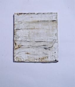 Lime-wash on dry bitumen